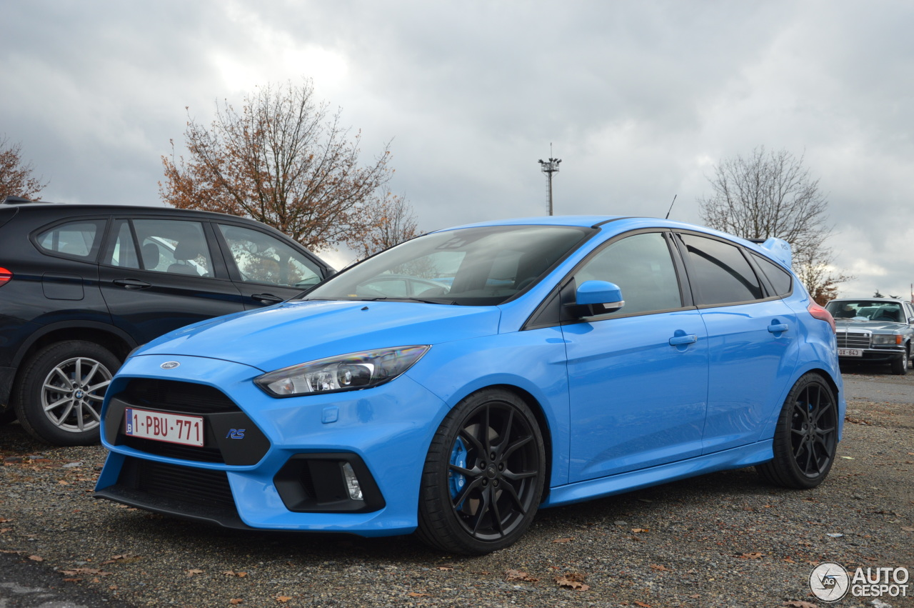 ford focus rs 2015 19 november 2016 autogespot. Black Bedroom Furniture Sets. Home Design Ideas