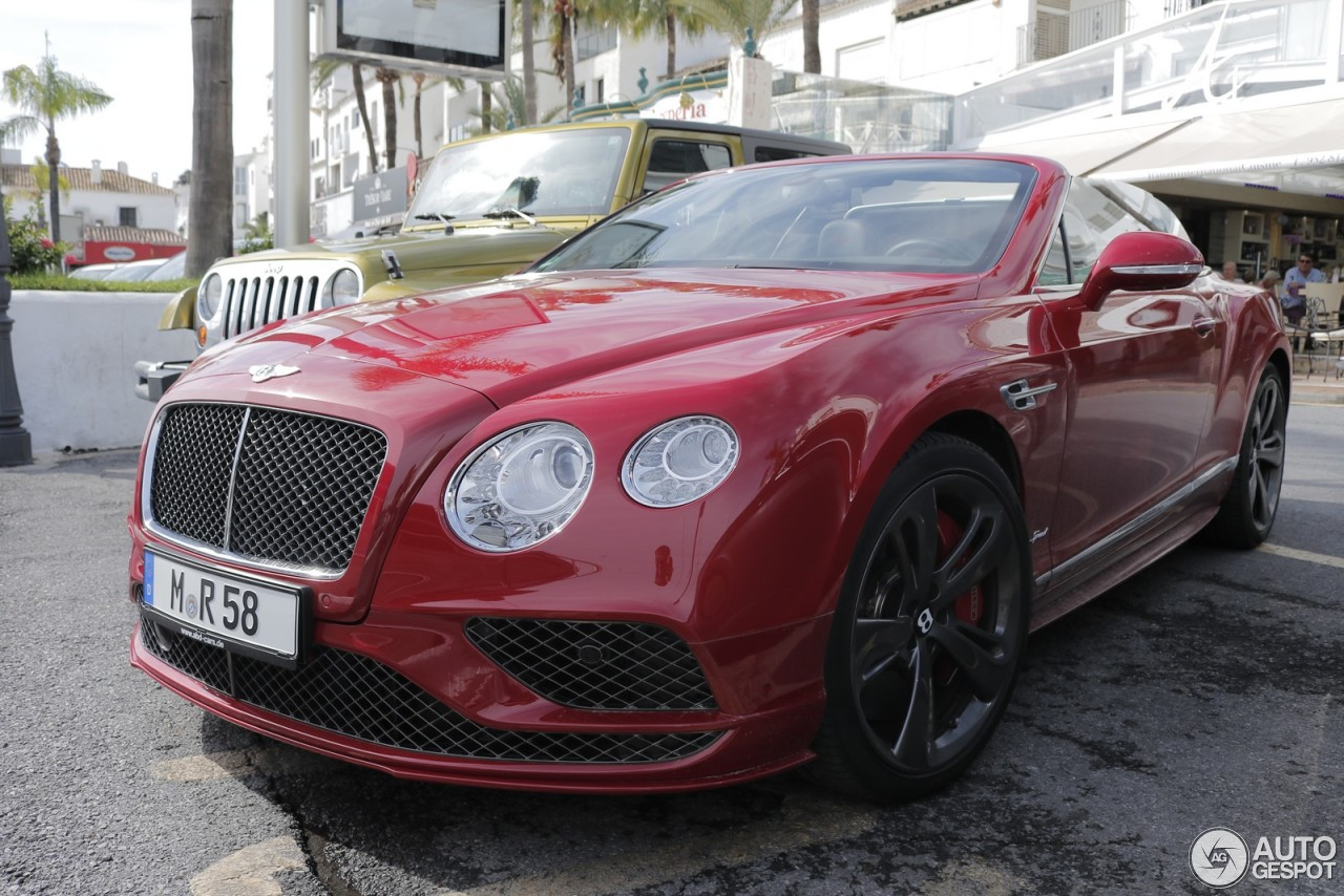 bentley continental gtc speed 2016 20 november 2016 autogespot. Cars Review. Best American Auto & Cars Review