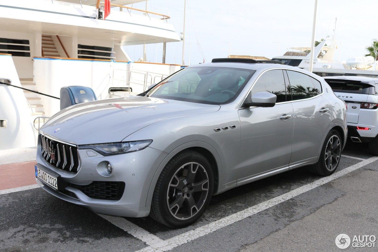 maserati levante s 20 novembre 2016 autogespot. Black Bedroom Furniture Sets. Home Design Ideas