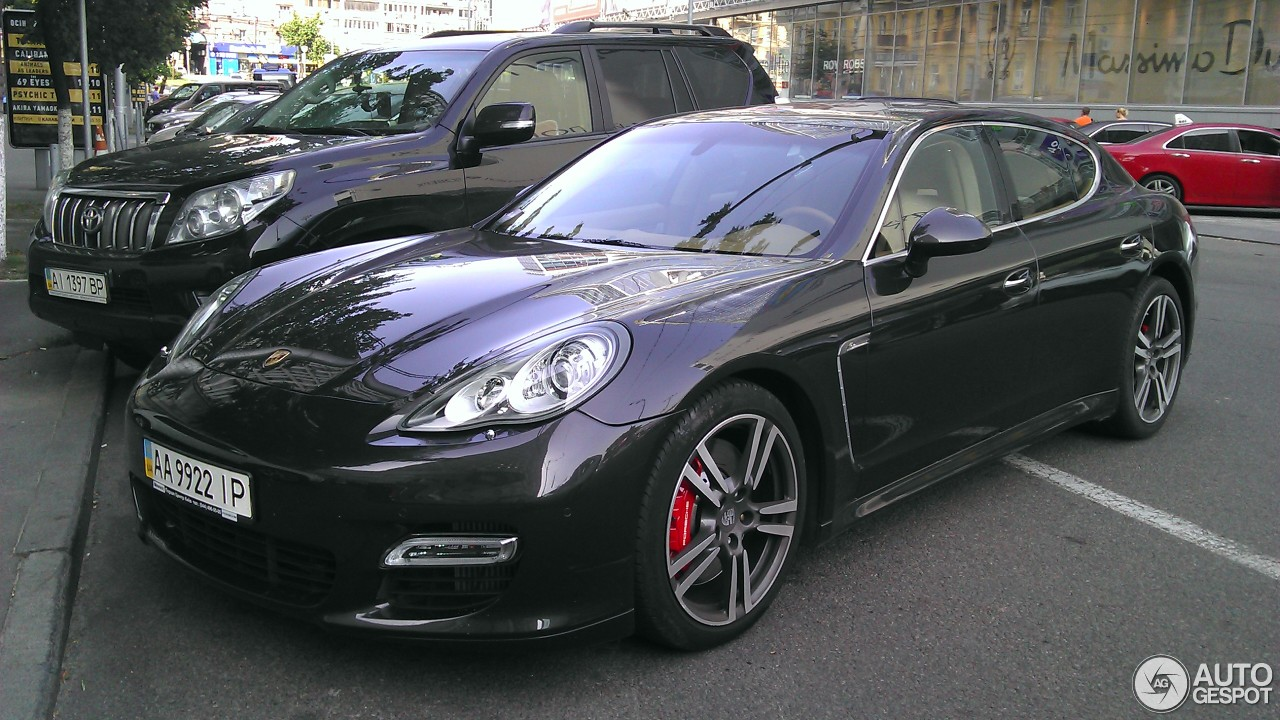 Porsche Panamera Turbo 20 November 2016 Autogespot