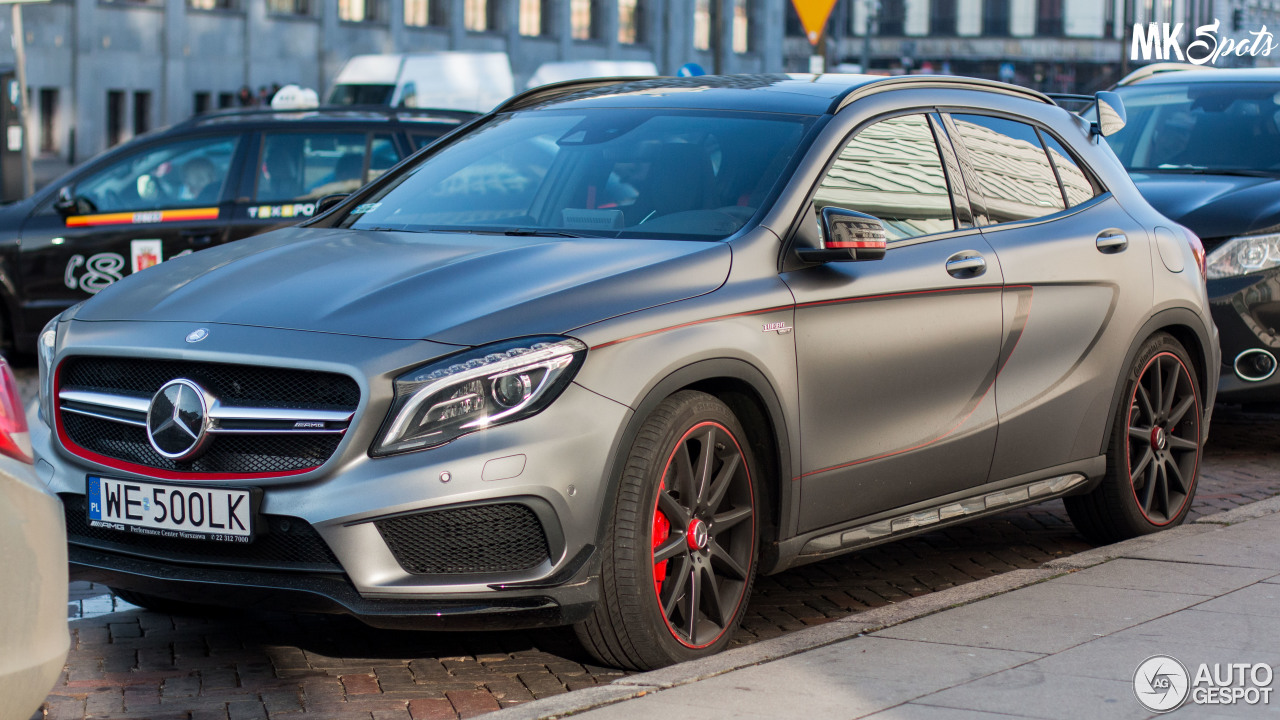 Mercedes benz gla 45 amg edition 1 21 november 2016 for Mercedes benz gla 45 amg