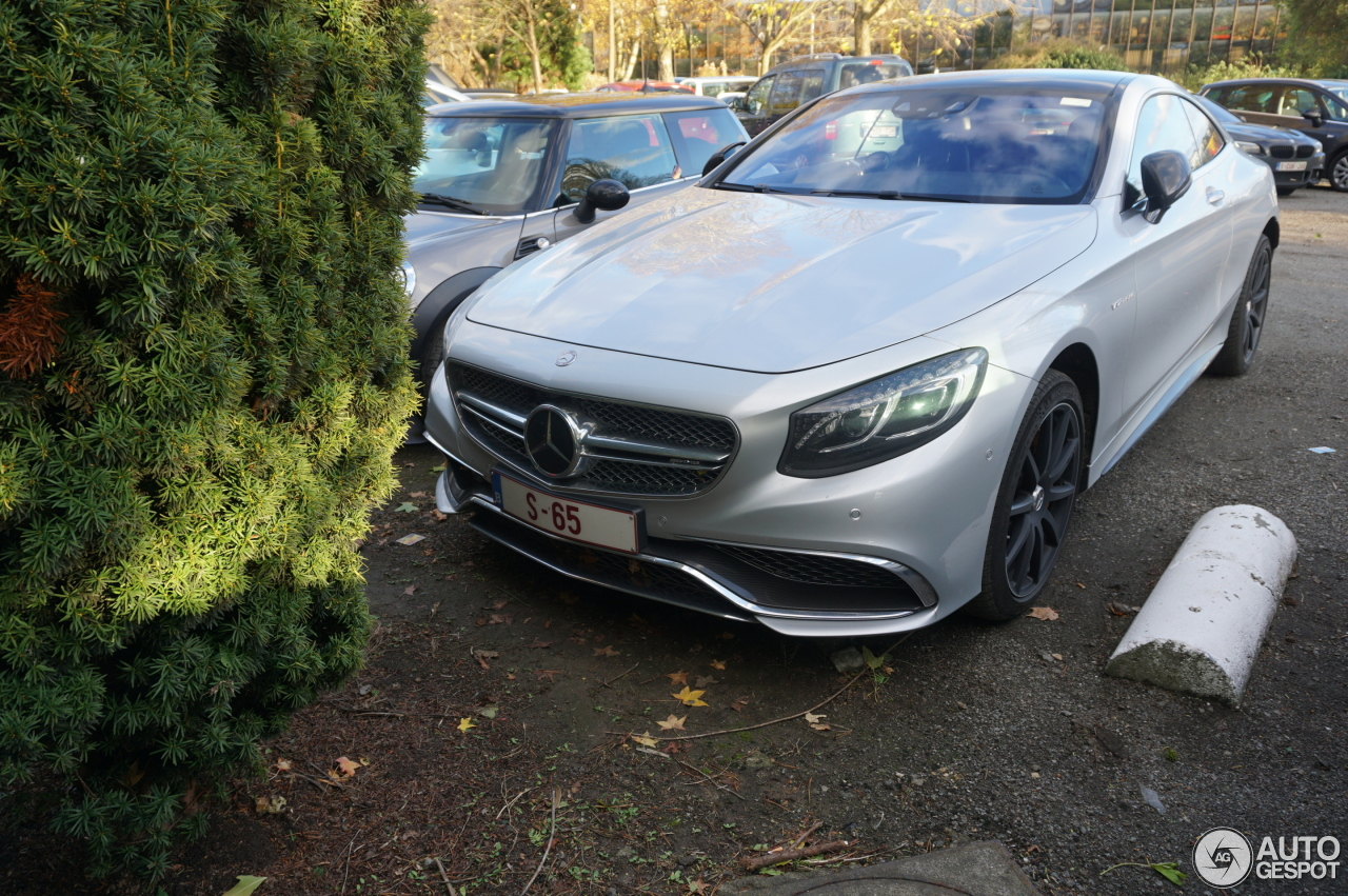 Mercedes benz s 65 amg coup c217 21 november 2016 for Mercedes benz amg 65 price