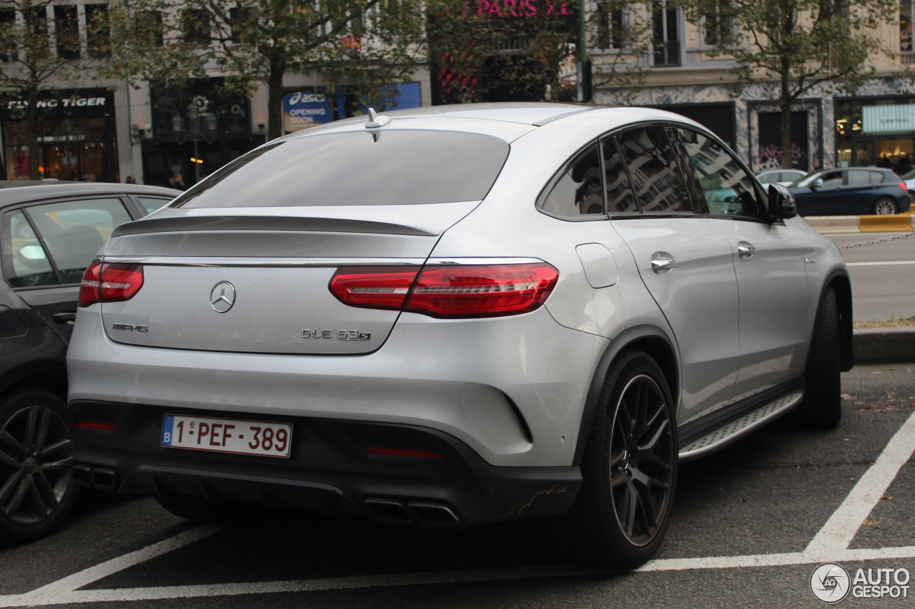 mercedes amg gle 63 s coup 22 novembre 2016 autogespot. Black Bedroom Furniture Sets. Home Design Ideas