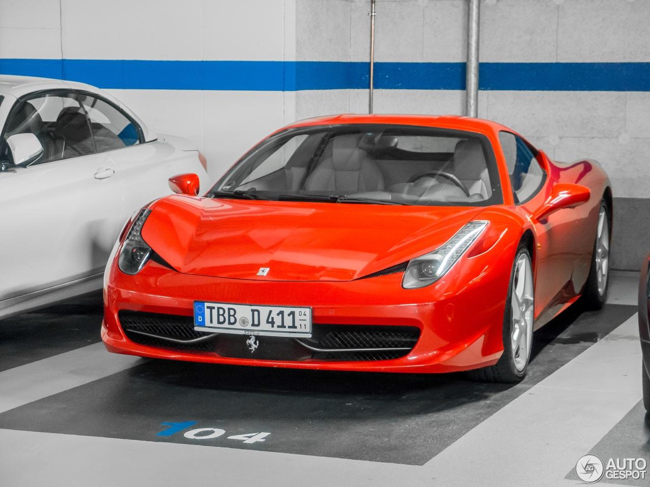 ferrari 458 italia 23 november 2016 autogespot. Cars Review. Best American Auto & Cars Review