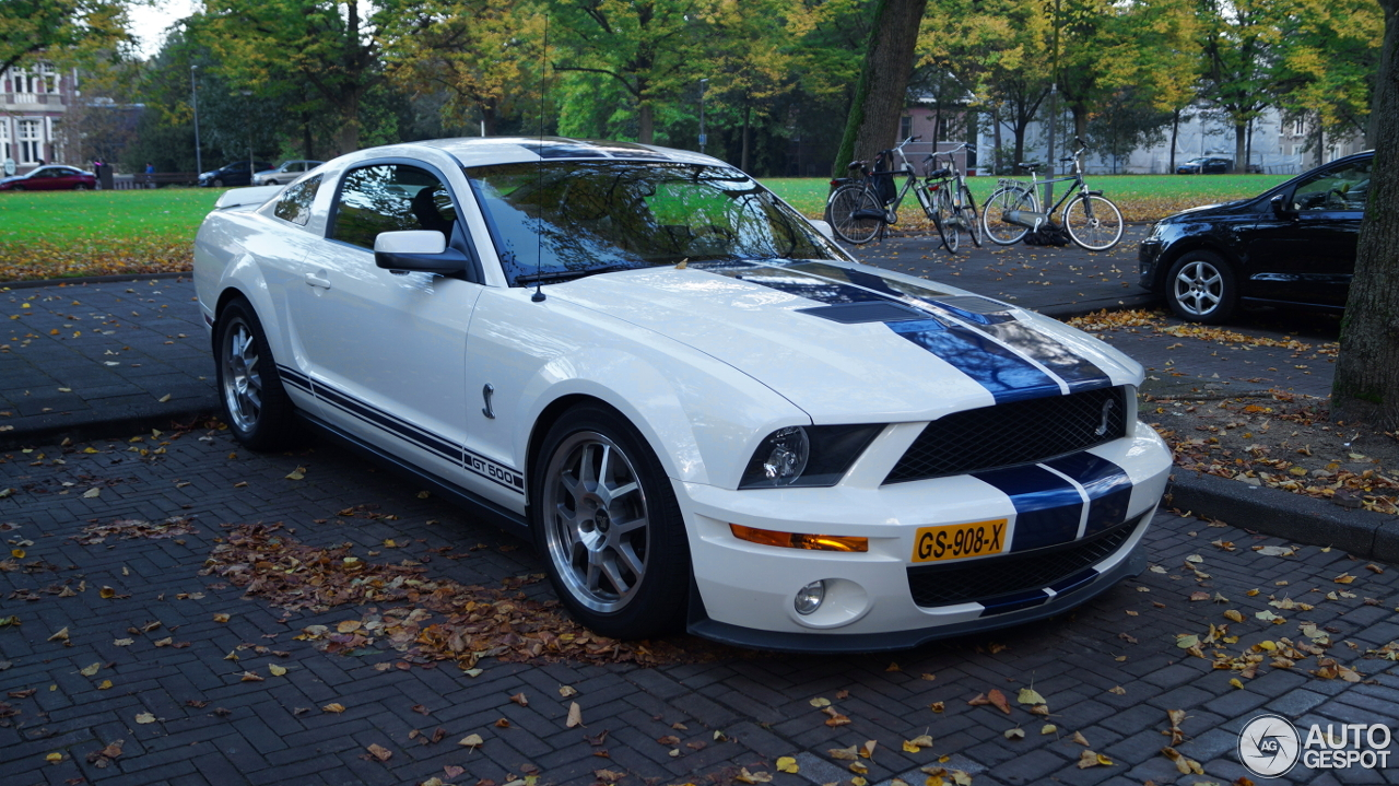 Ford mustang shelby gt500 23 november 2016 autogespot - Mustang shelby ...