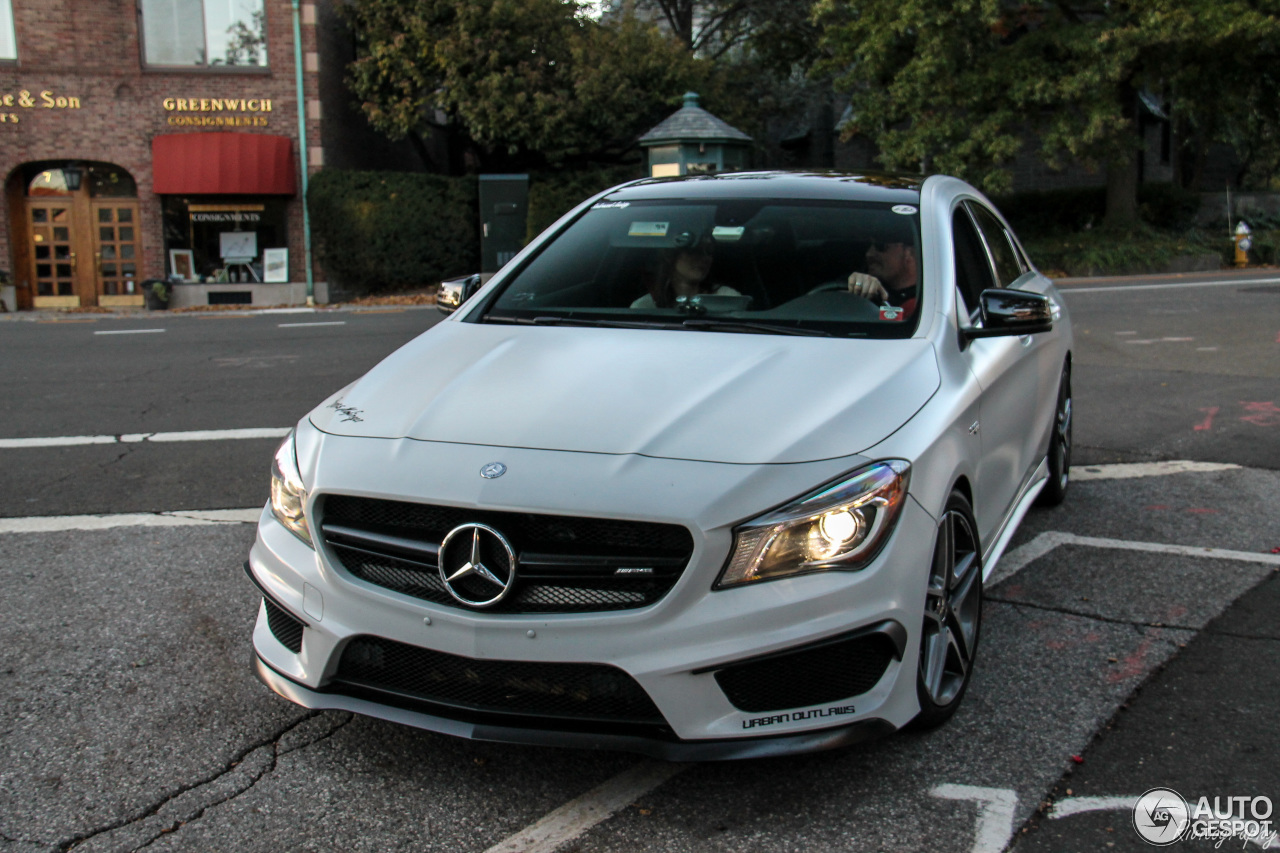 mercedes benz cla 45 amg c117 23 listopad 2016 autogespot. Cars Review. Best American Auto & Cars Review