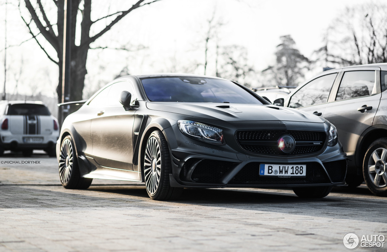 mercedes benz mansory s 63 amg coupe black edition 23