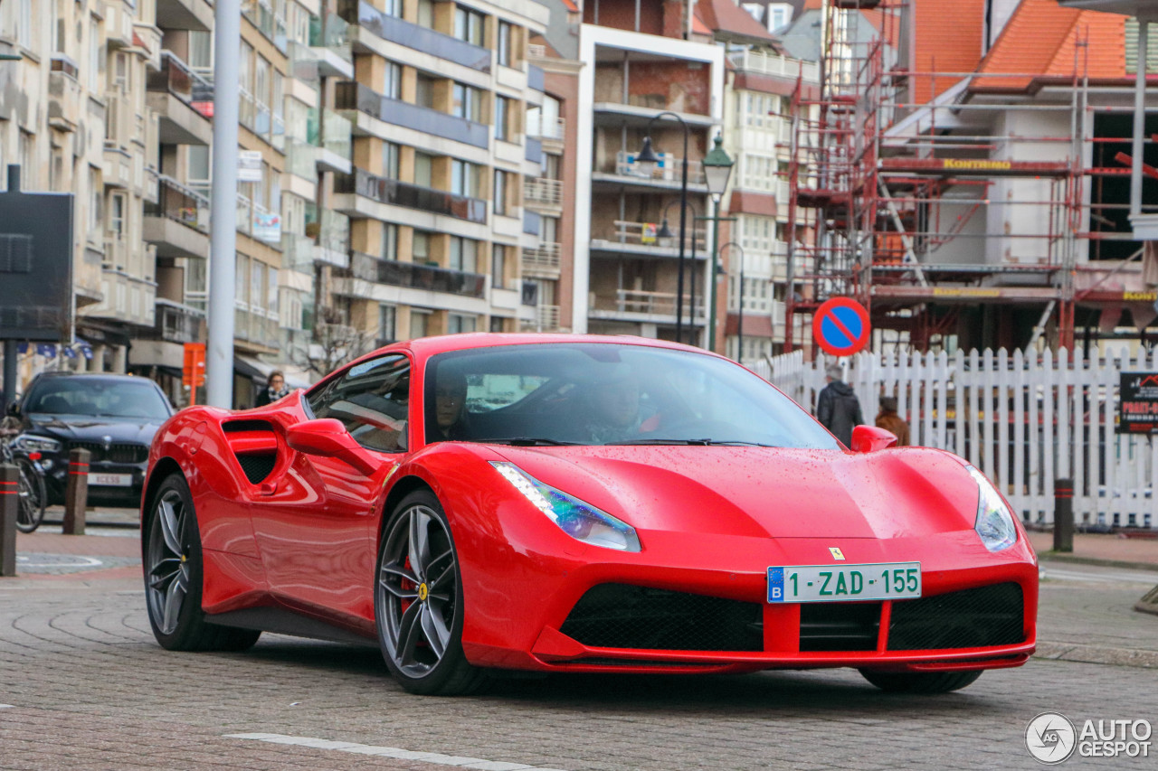 ferrari 488 gtb 2 january 2016 autogespot. Black Bedroom Furniture Sets. Home Design Ideas