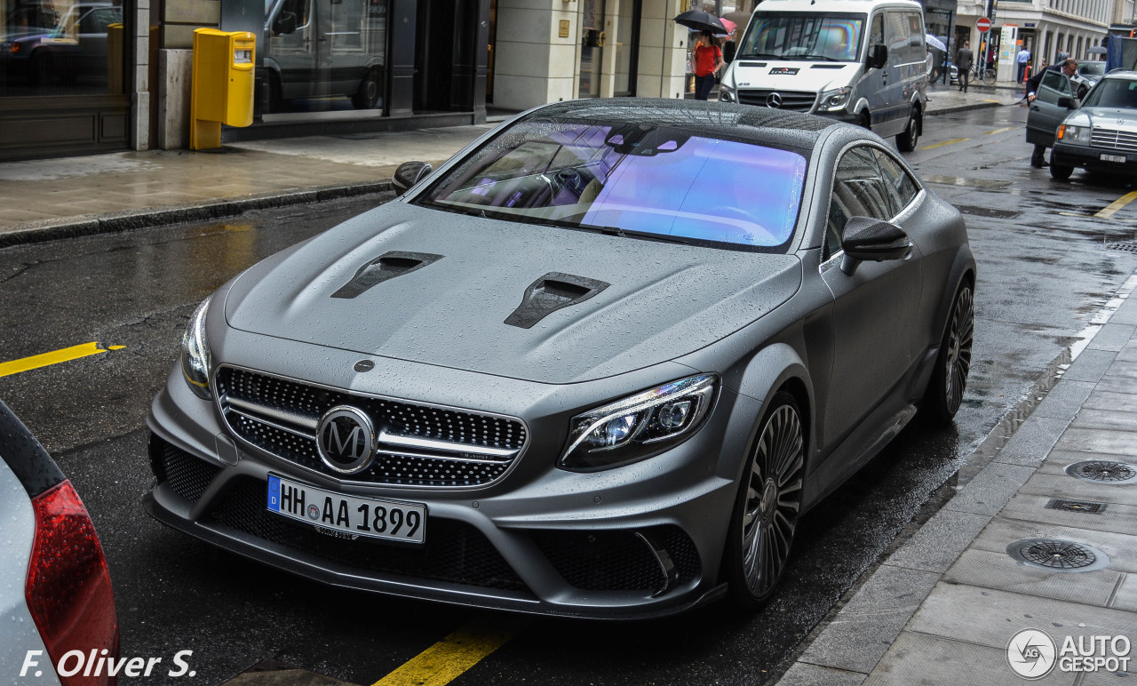 Mercedes Benz Mansory S 63 Amg Coup 233 2 January 2016