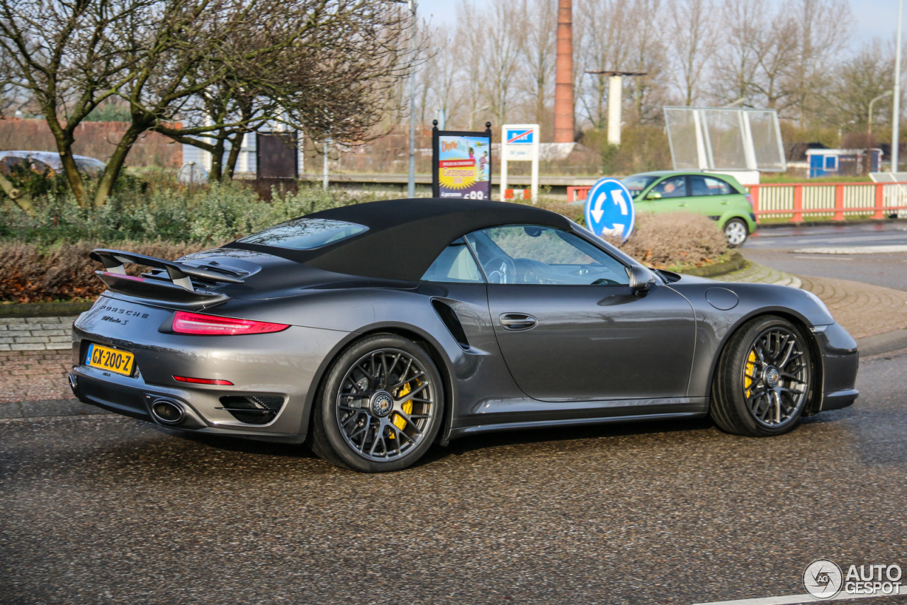 porsche 991 turbo s cabriolet 2 january 2016 autogespot. Black Bedroom Furniture Sets. Home Design Ideas