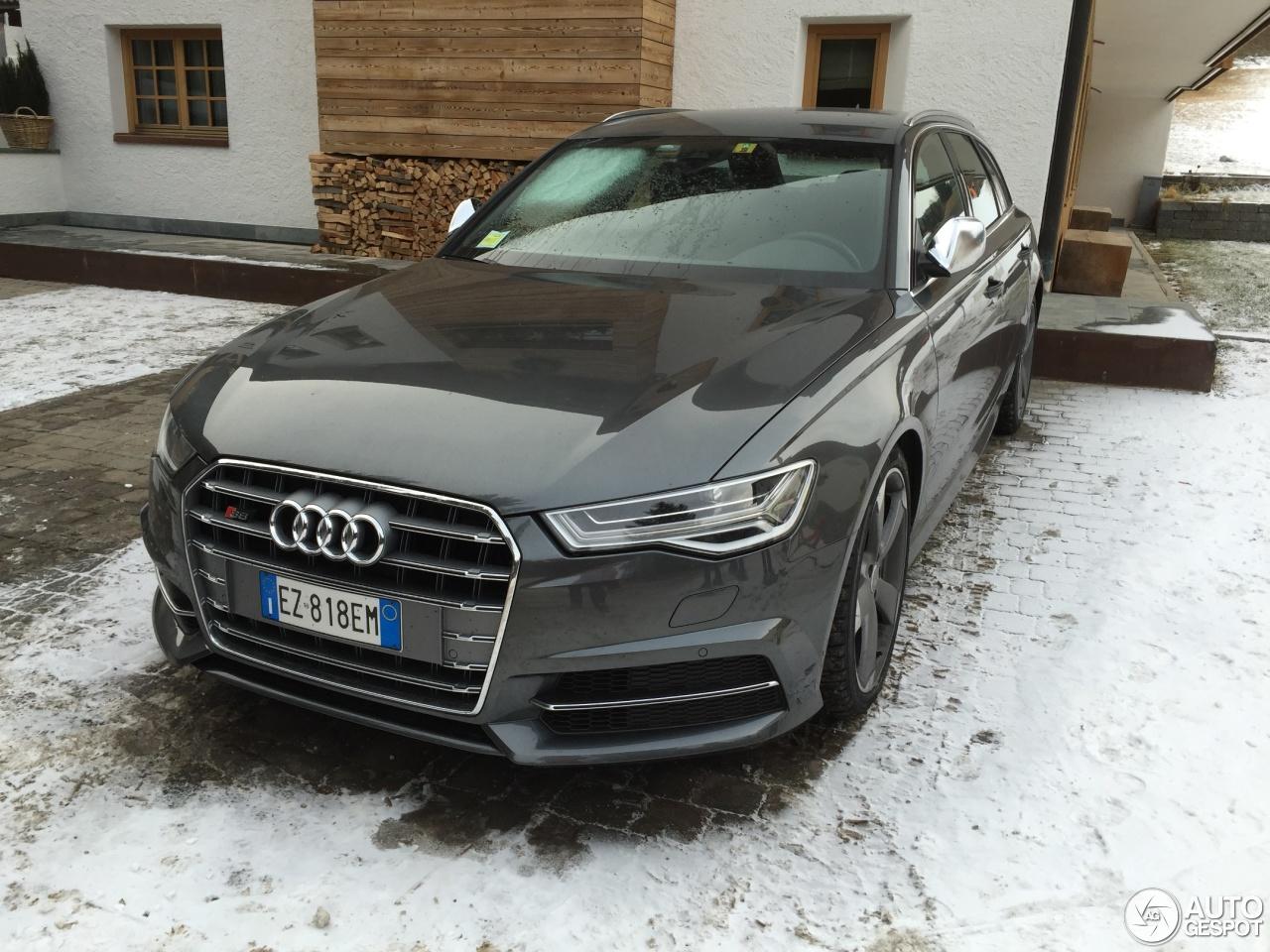 Audi S6 Avant C7 2015 3 January 2016 Autogespot