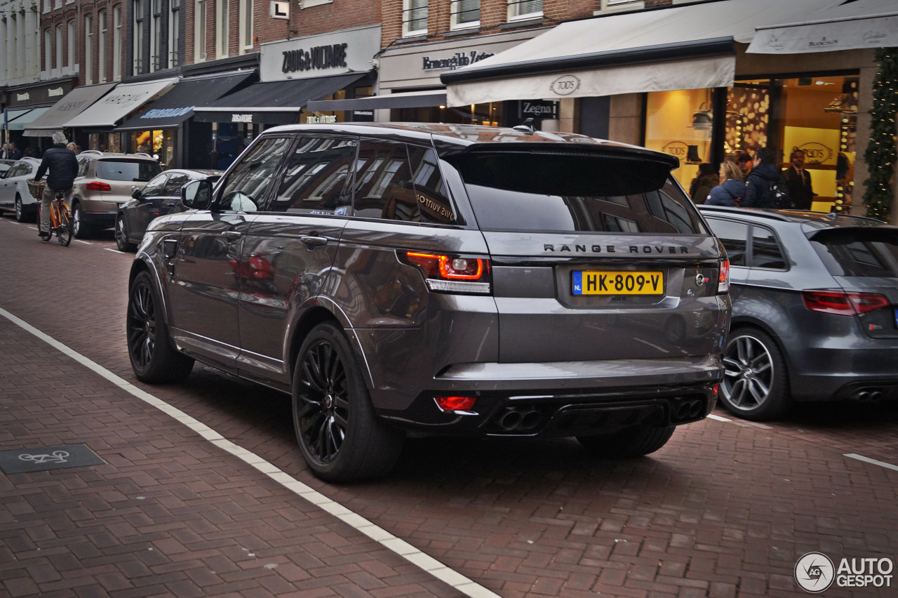 land rover range rover sport svr 4 januar 2016 autogespot. Black Bedroom Furniture Sets. Home Design Ideas