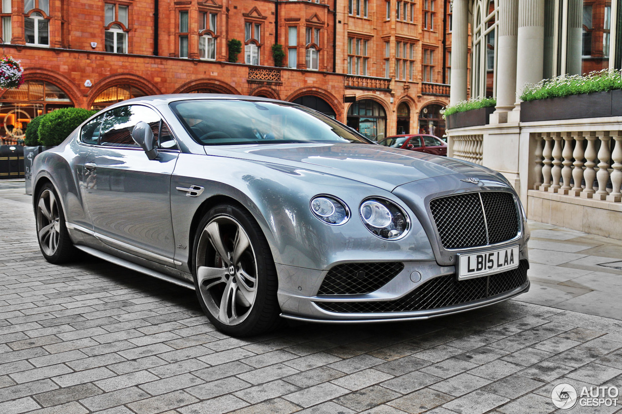 Bentley Continental Gt Speed 2016 6 January 2016
