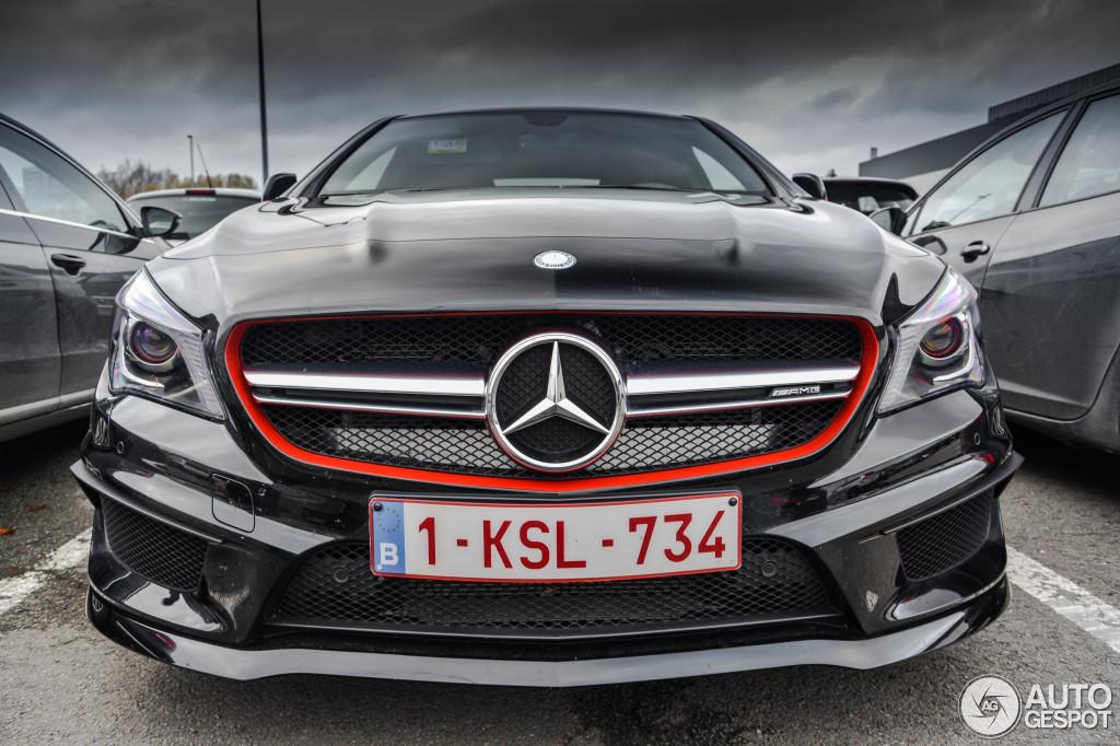 Mercedes Benz Cla 45 Amg Edition 1 C117 8 Janvier 2016