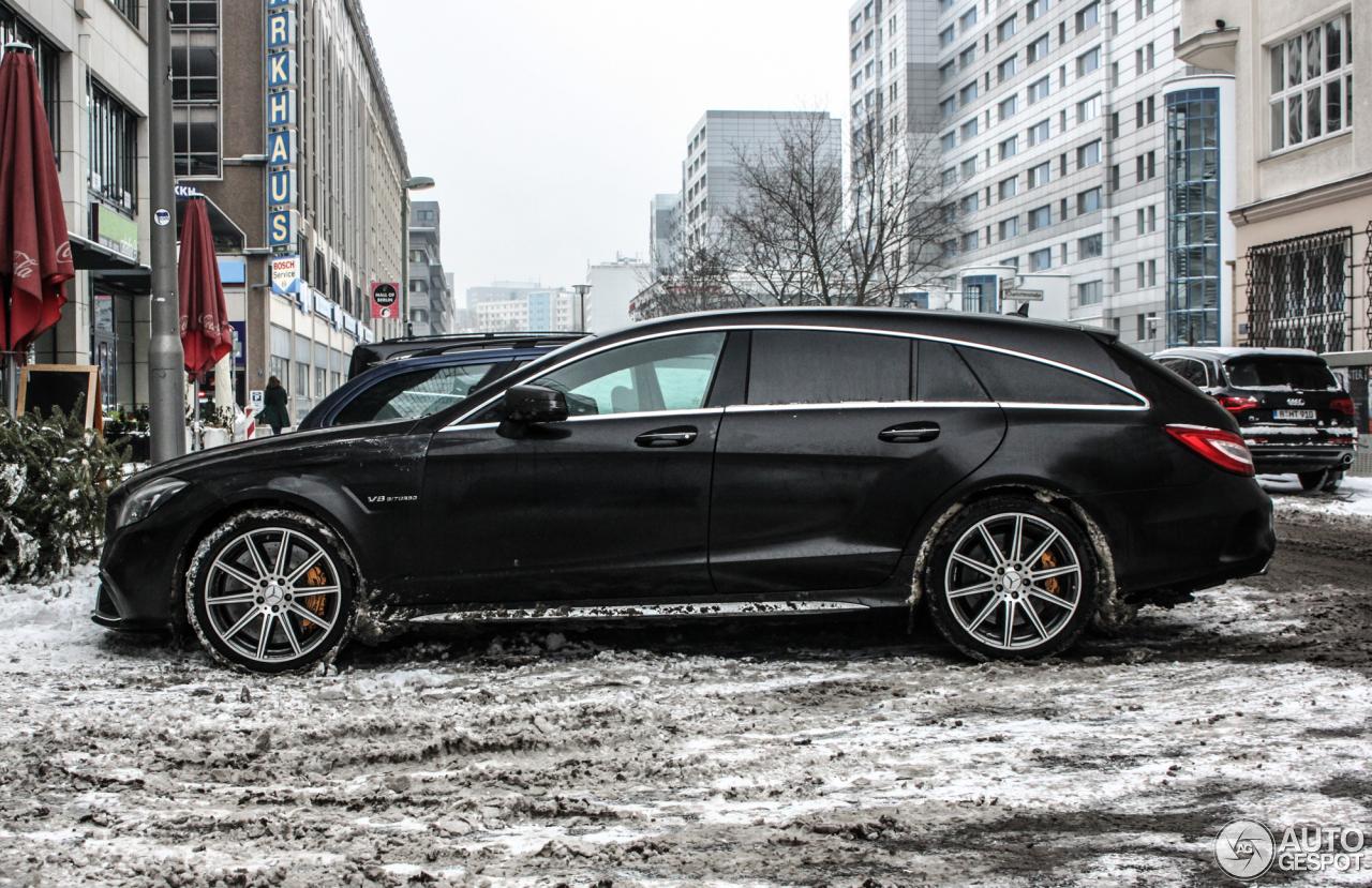 Mercedes Benz Cls 63 Amg S X218 Shooting Brake 2015 8
