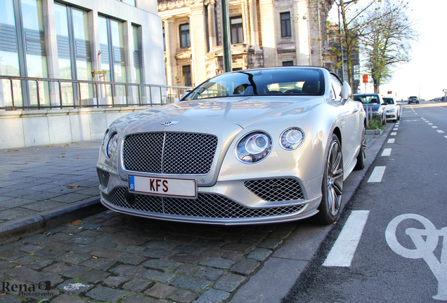 Bentley Continental GTC Speed 2016