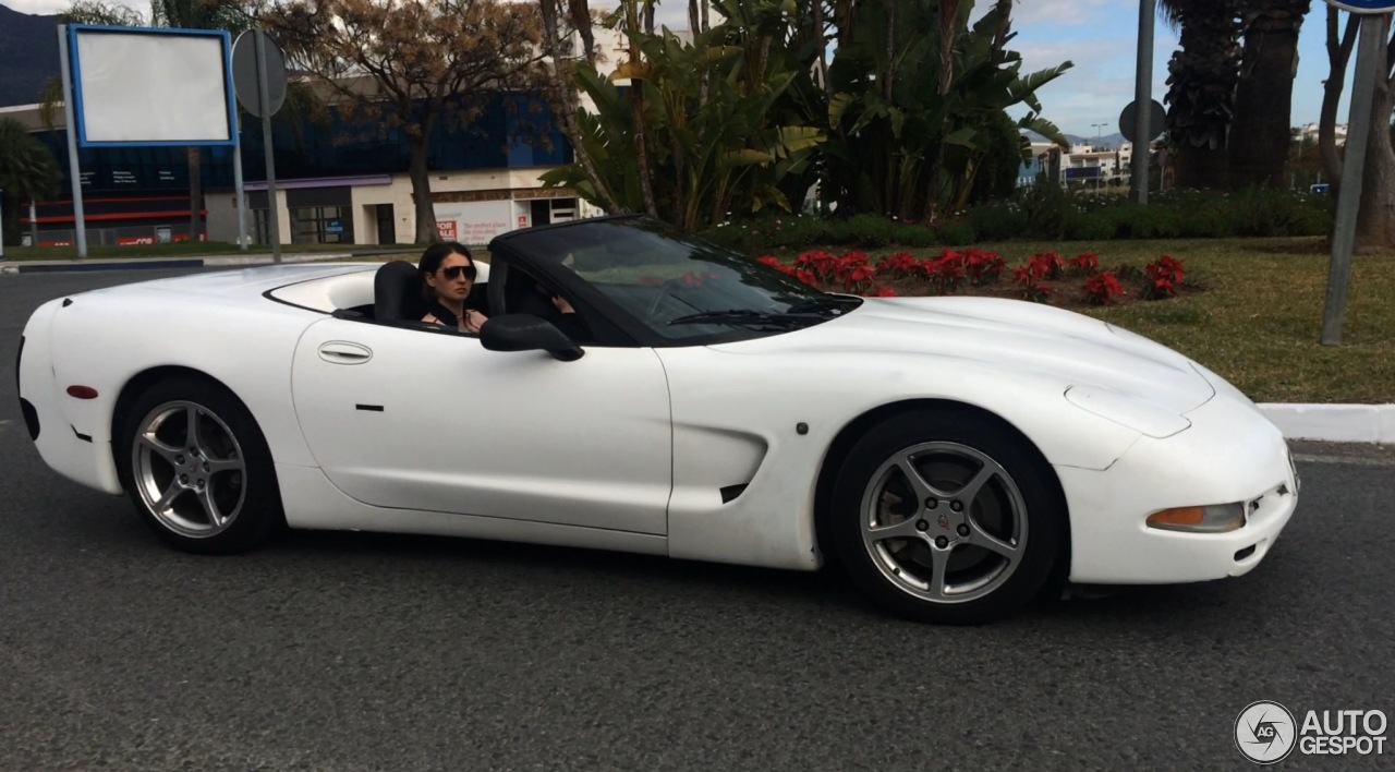 Chevrolet Corvette C5 Convertible 9 January 2016
