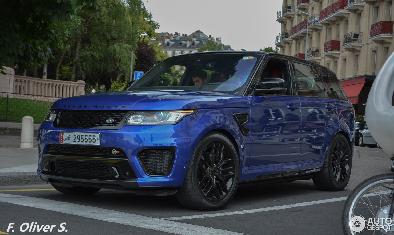land rover range rover sport svr 10 january 2016. Black Bedroom Furniture Sets. Home Design Ideas