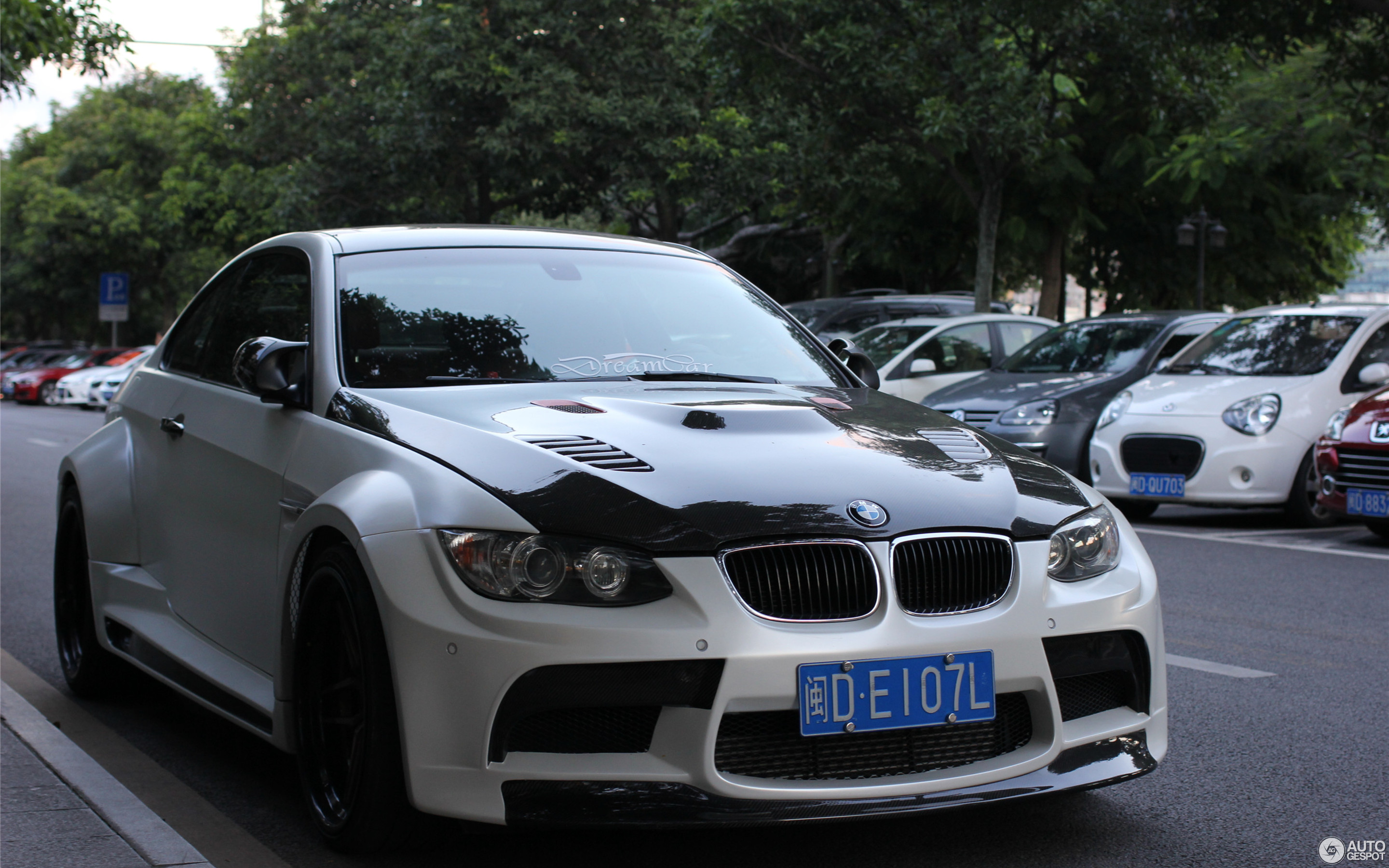 Bmw M3 E92 Coupe Vorsteiner Gtrs3 Widebody 11 January 2016 Autogespot