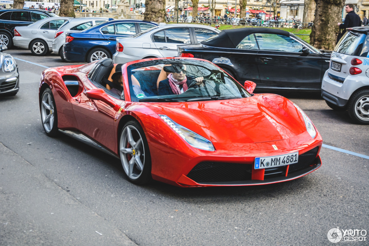 Ferrari 488 Spider 13 Januar 2016 Autogespot