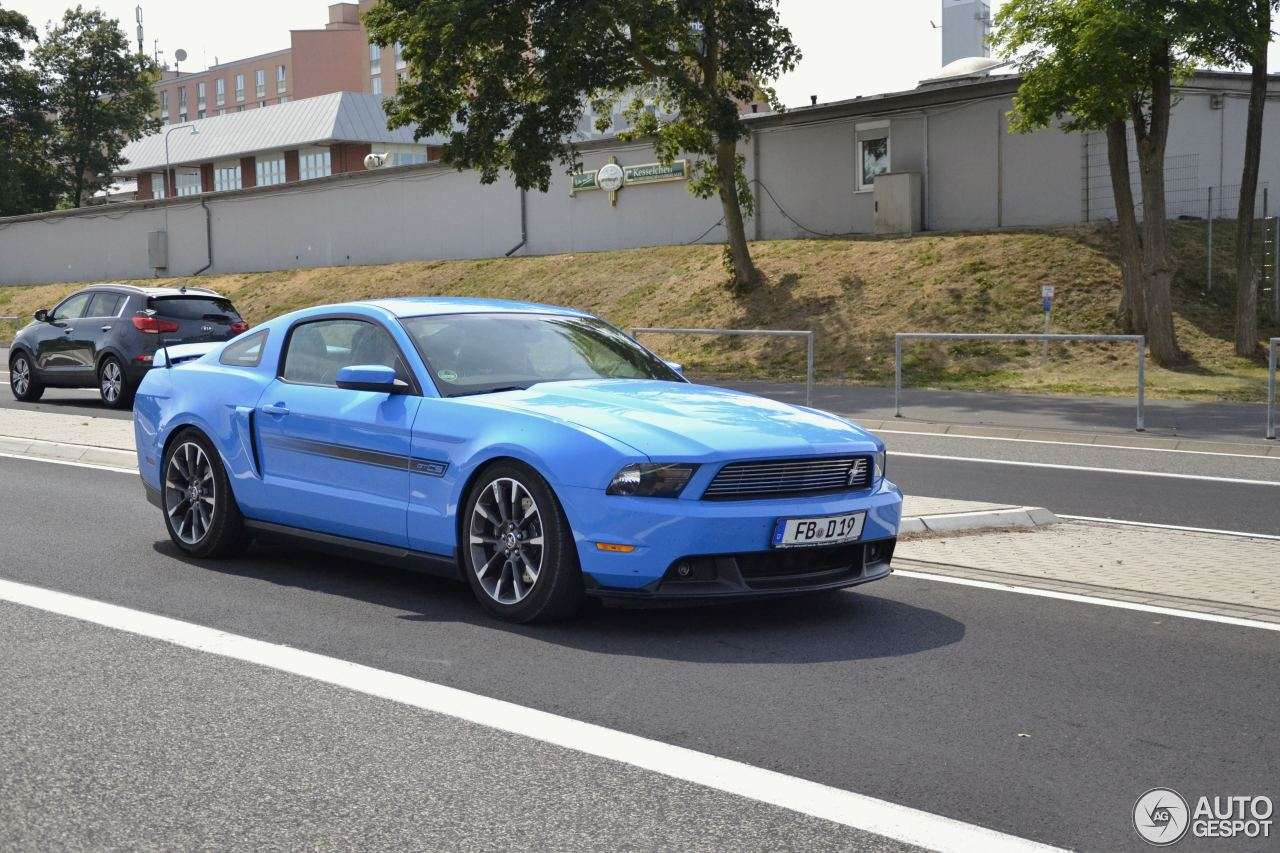 Ford Mustang Gt California Special 2012 16 January 2016