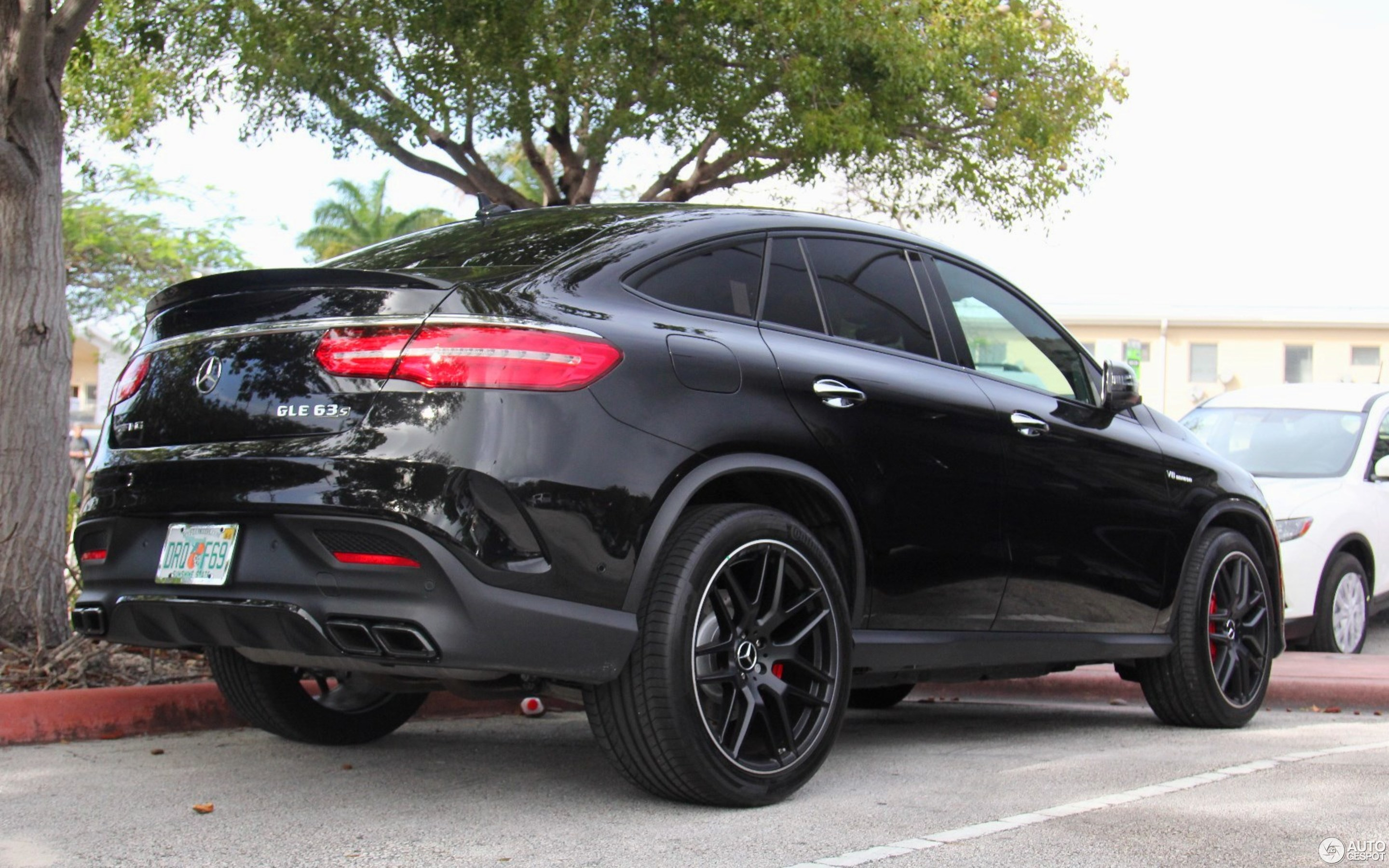 Mercedes Amg Gle 63 S Coupe 16 January 2016 Autogespot