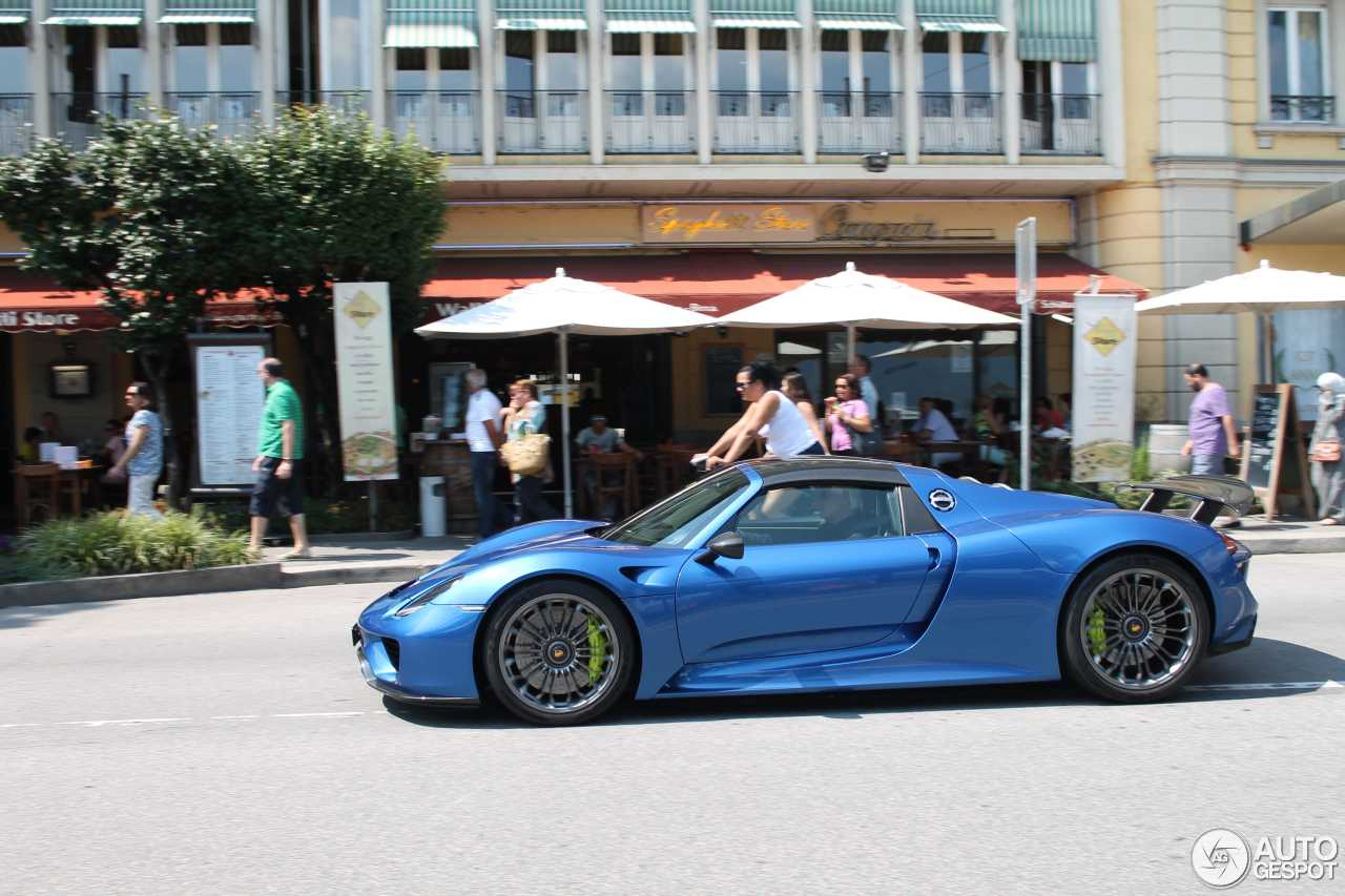 porsche 918 spyder 16 january 2016 autogespot. Black Bedroom Furniture Sets. Home Design Ideas
