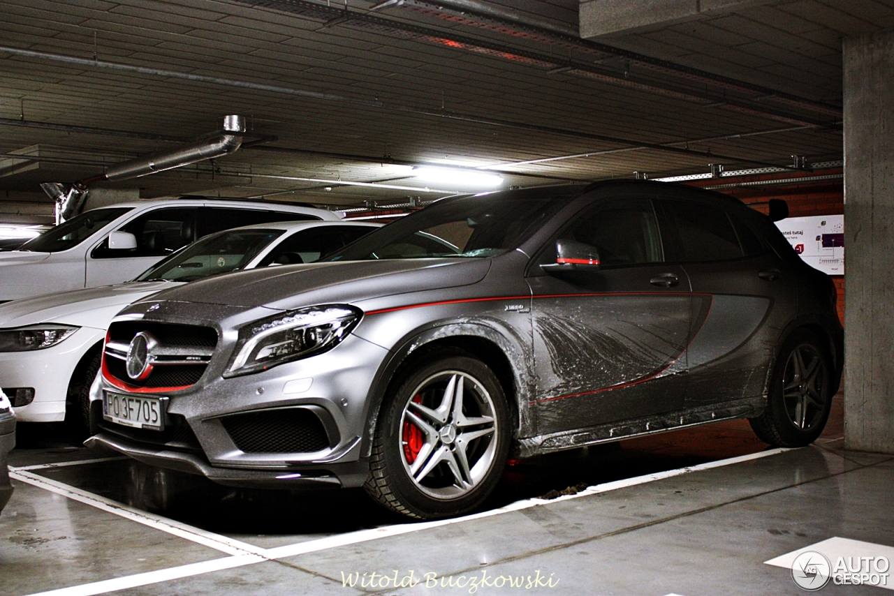 mercedes benz gla 45 amg edition 1 18 january 2016 autogespot. Black Bedroom Furniture Sets. Home Design Ideas