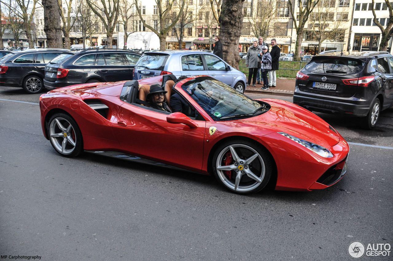 Ferrari 488 Spider 23 January 2016 Autogespot