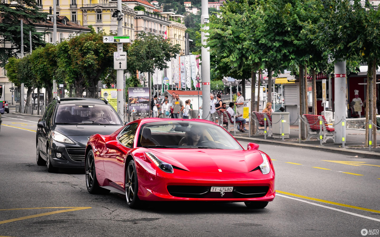 Ferrari 458 Spider 23 January 2016