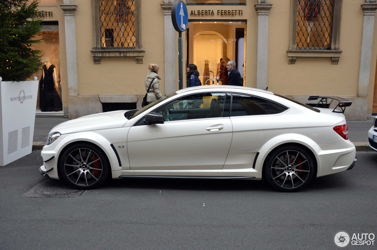 Mercedes benz c 63 amg coup black series 24 january for C series mercedes benz