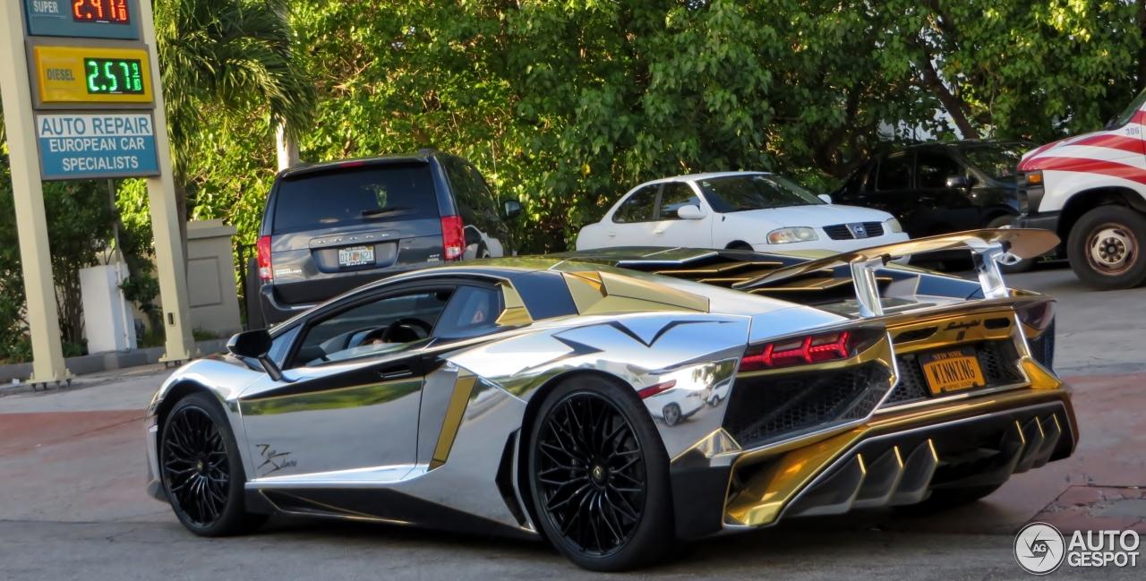 9 i lamborghini aventador lp750 4 superveloce 9 - Lamborghini Aventador Chrome Purple
