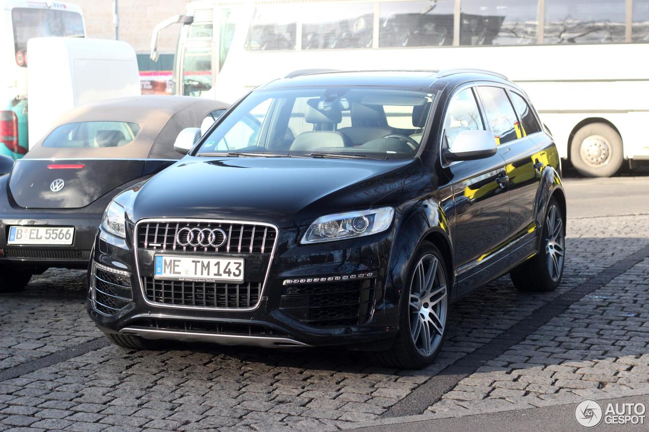 Audi Q V TDI January Autogespot - Audi q7 v12