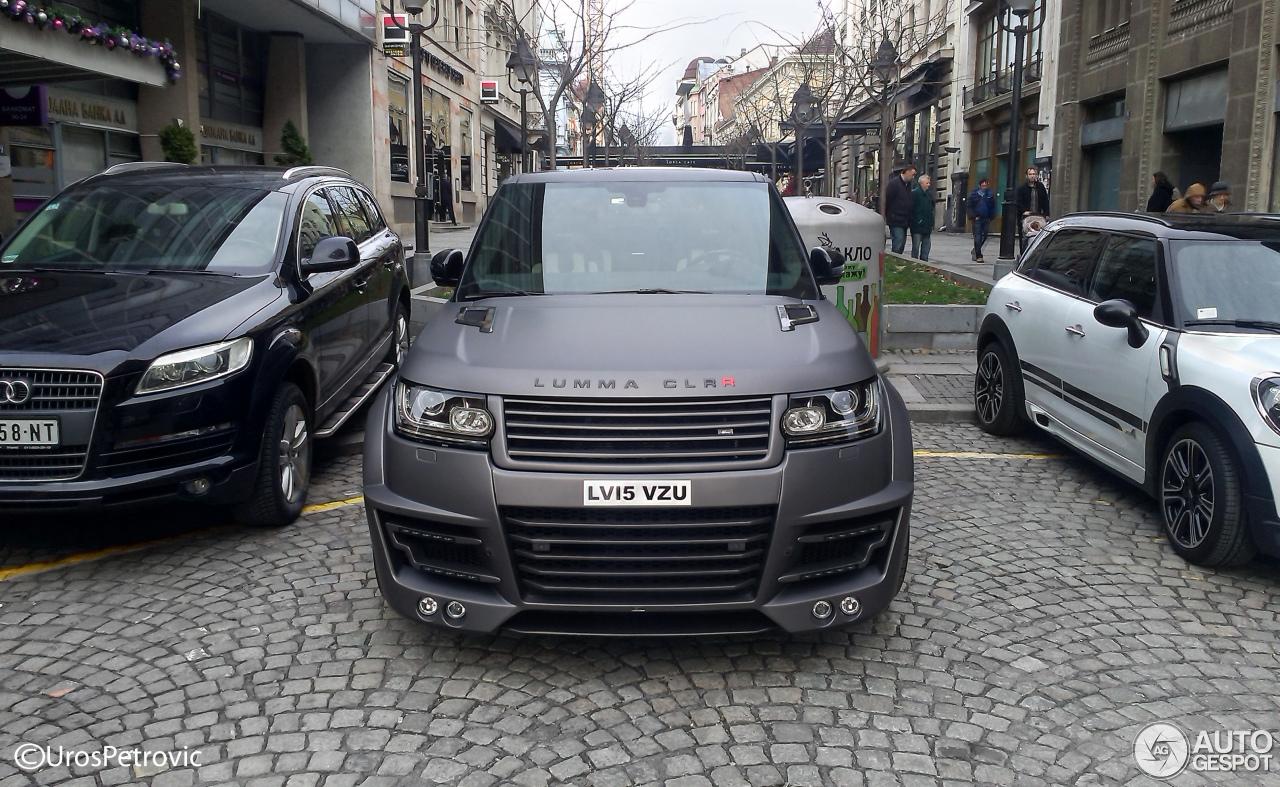Land Rover Range Rover Lumma Clr R 31 January 2016