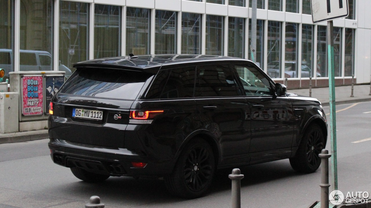 land rover range rover sport svr 1 february 2016. Black Bedroom Furniture Sets. Home Design Ideas