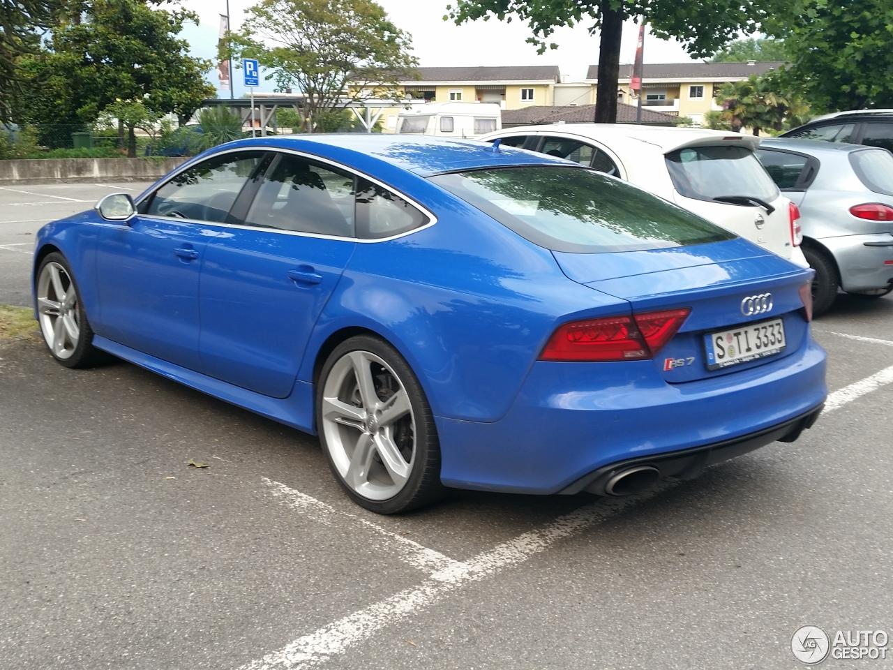 Audi RS7 Sportback - 2 februari 2016 - Autogespot