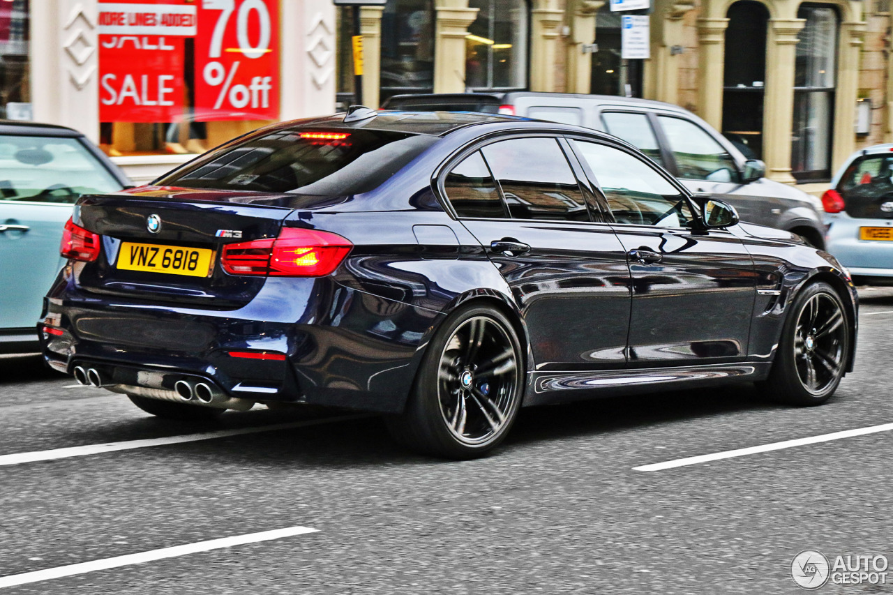 Bmw M3 F80 Sedan 2016 9 February 2016 Autogespot