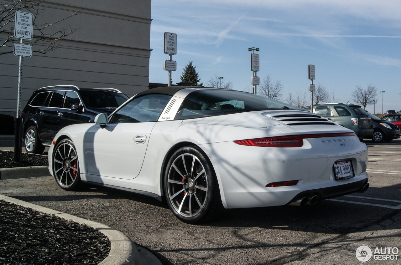 porsche 991 targa 4s 10 february 2016 autogespot. Black Bedroom Furniture Sets. Home Design Ideas