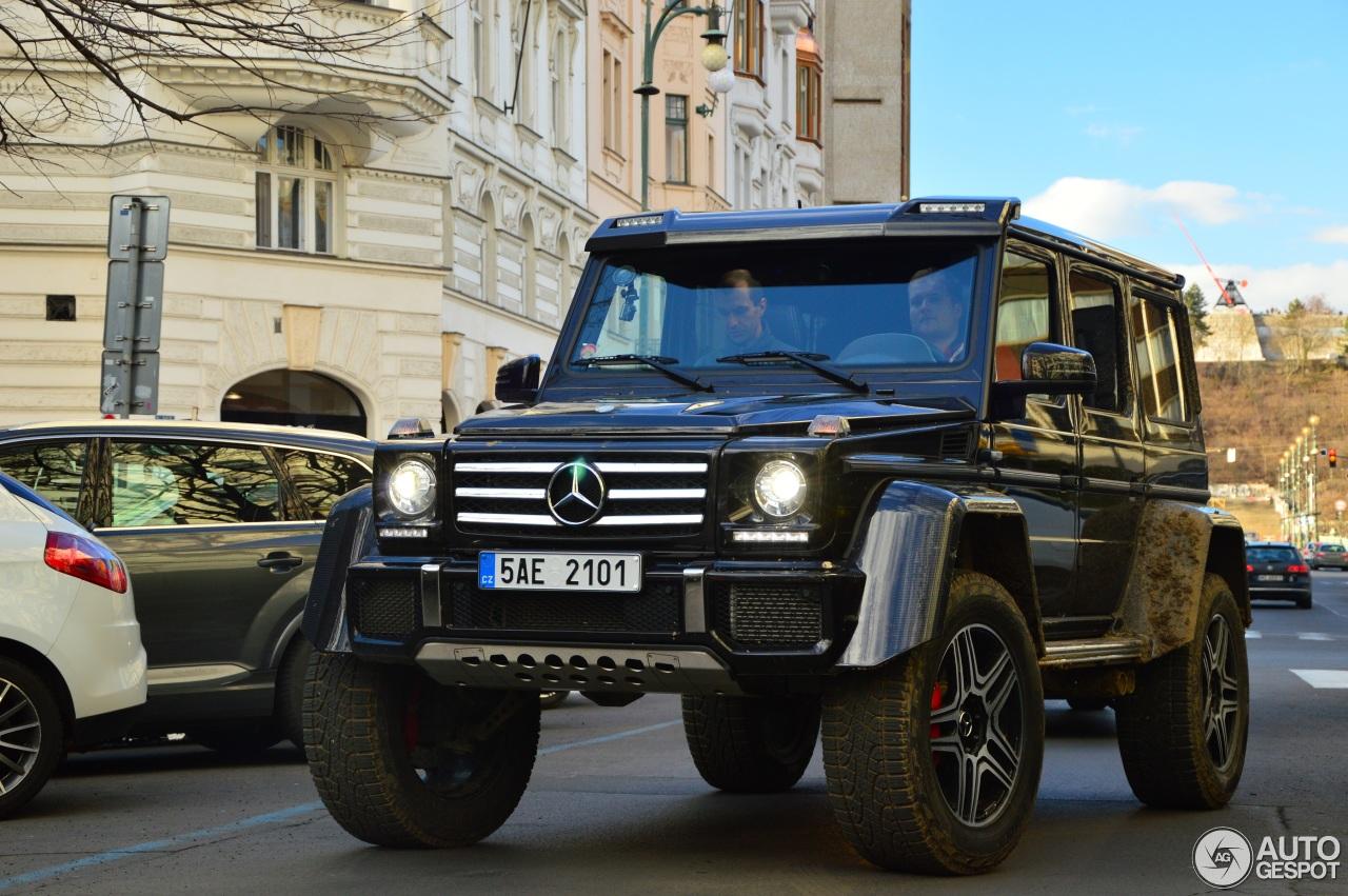 Mercedes benz g 500 4x4 11 februar 2016 autogespot for Mercedes benz c 500
