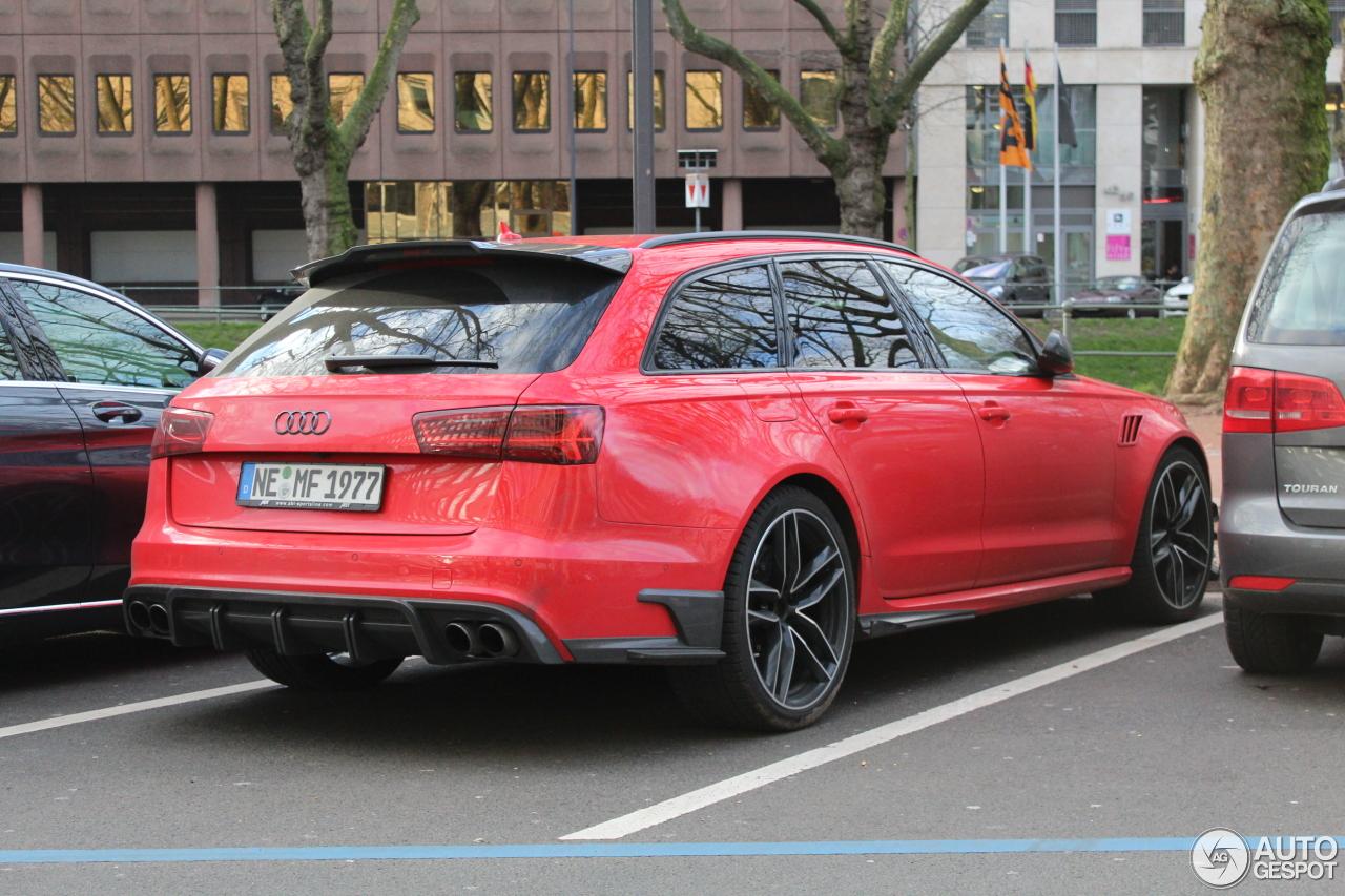Audi Abt Rs6 R Avant C7 2015 12 Fvrier 2016 Autogespot