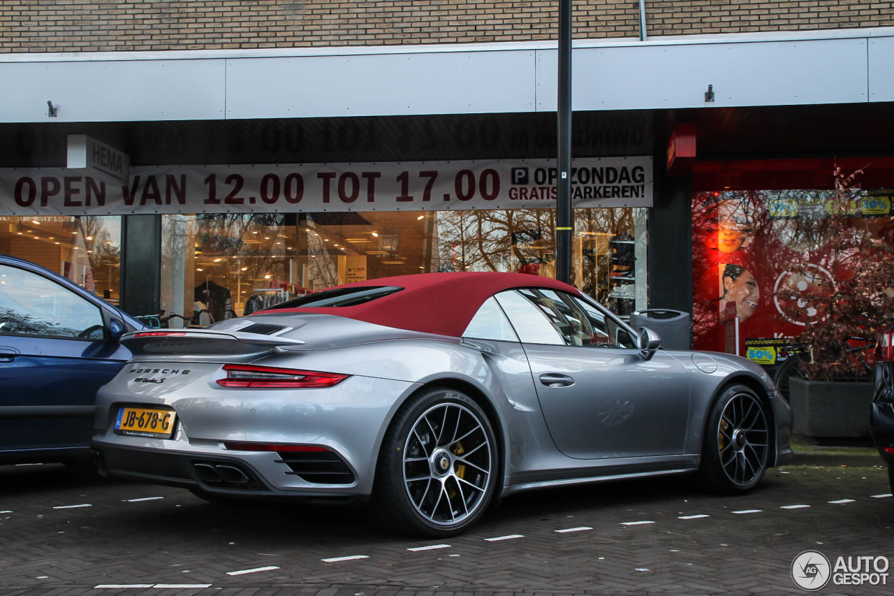 porsche 991 turbo s cabriolet mkii 13 february 2016 autogespot. Black Bedroom Furniture Sets. Home Design Ideas