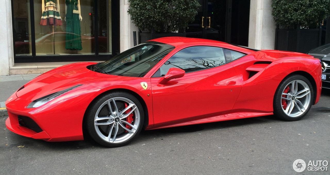 Ferrari 488 Gtb 14 February 2016 Autogespot