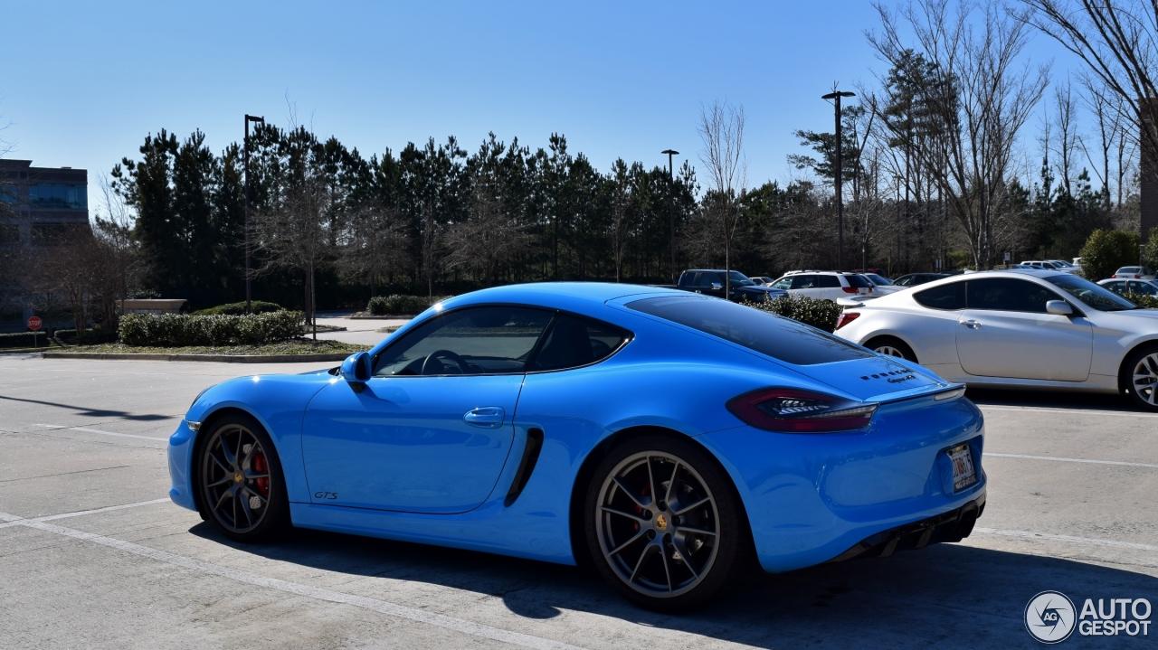 Porsche 981 Cayman Gts 16 February 2016 Autogespot