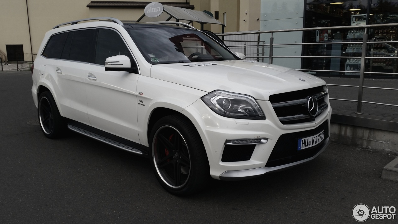mercedes benz gl 63 amg x166 18 luty 2016 autogespot. Black Bedroom Furniture Sets. Home Design Ideas