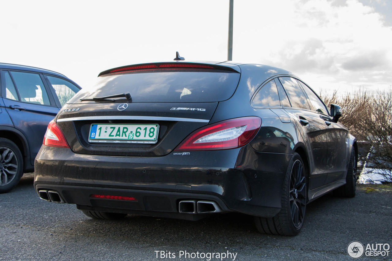 mercedes benz cls 63 amg s x218 shooting brake 2015 19 february 2016 autogespot. Black Bedroom Furniture Sets. Home Design Ideas