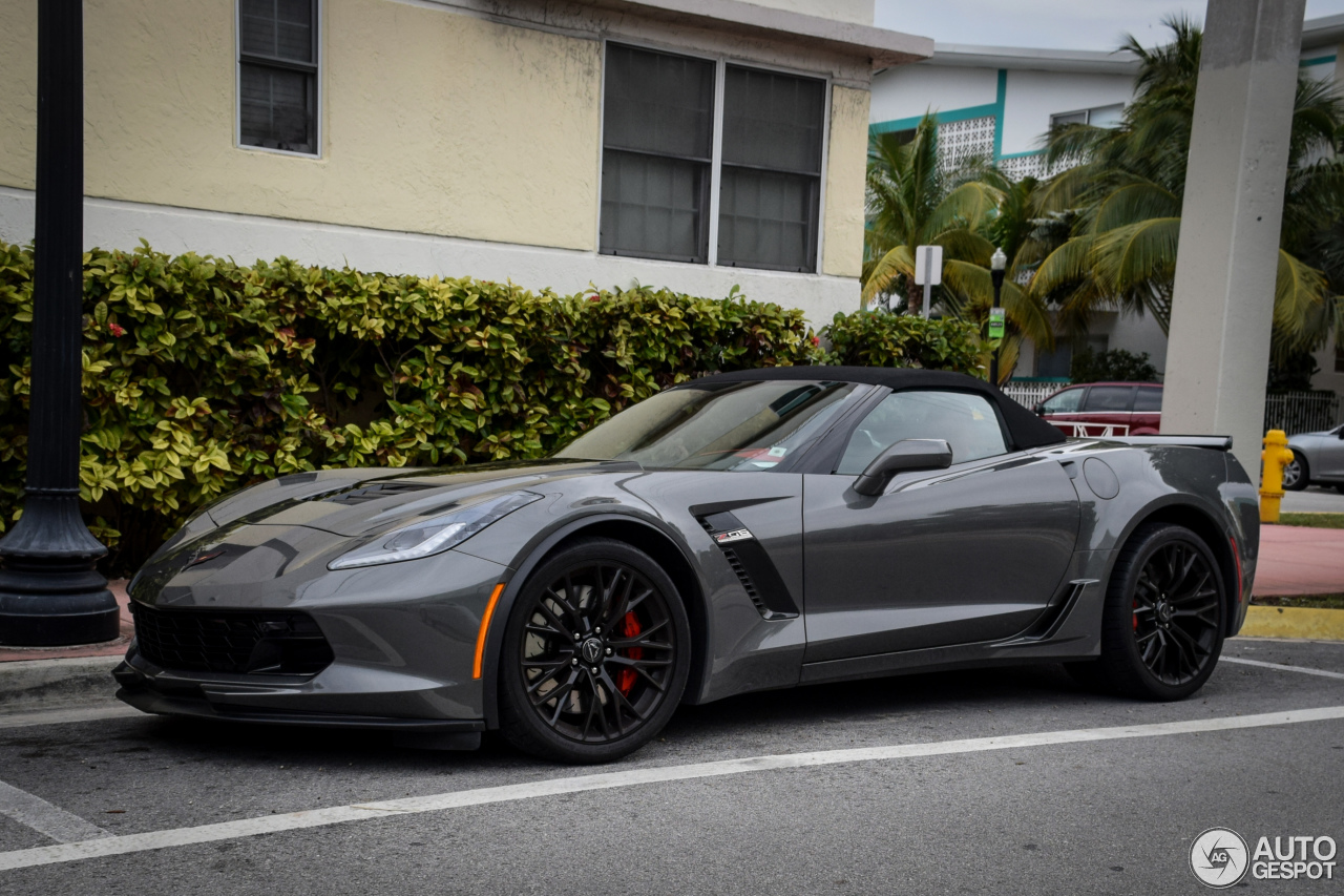 Chevrolet Corvette C7 Z06 Convertible - 21 February 2016 - Autogespot