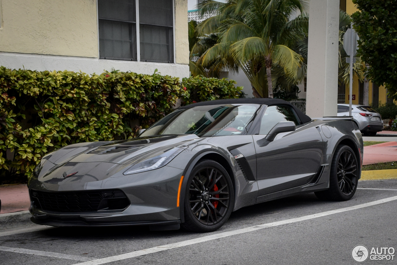 Chevrolet Corvette C7 Z06 Convertible - 21 February 2016 ...