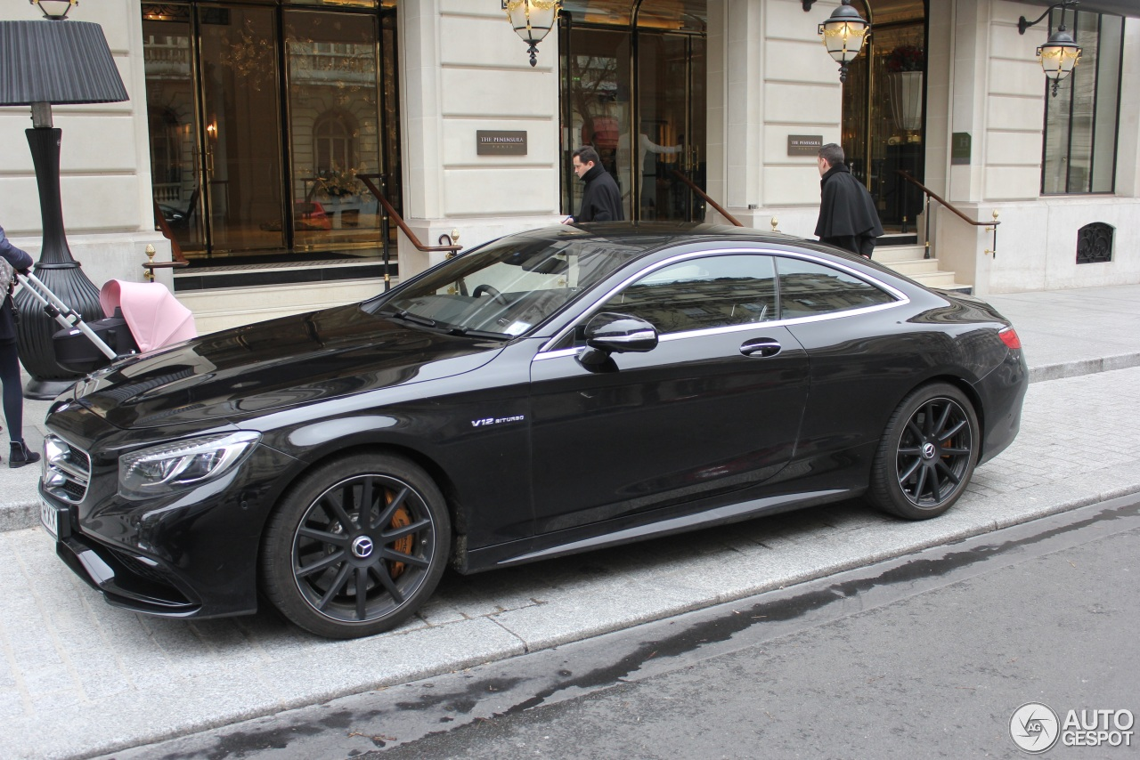 Mercedes Benz S 65 Amg Coup 233 C217 21 February 2016