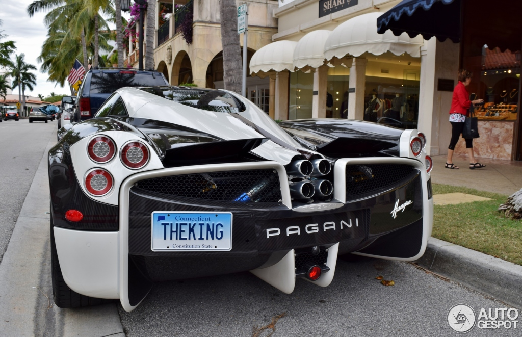 Pagani huayra the king 23 februari 2016 autogespot for Planet motors in west palm beach