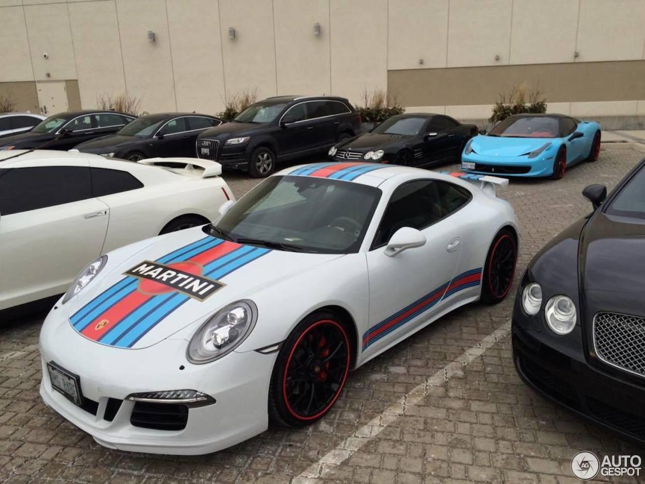 Porsche 991 Carrera Gts Martini Racing Edition 26